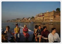 Early Morning Boat Ride at Ganges Varanasi